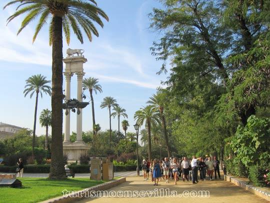Jardines de murillo turismo en sevilla - Jardines de sevilla ...
