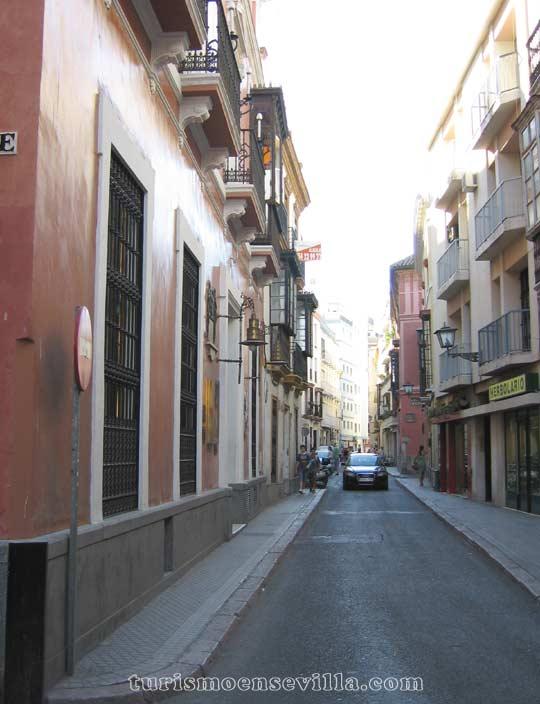 Calle Zaragoza de Sevilla