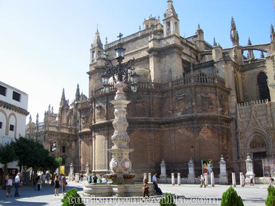 Plaza de la Giralda de Sevilla