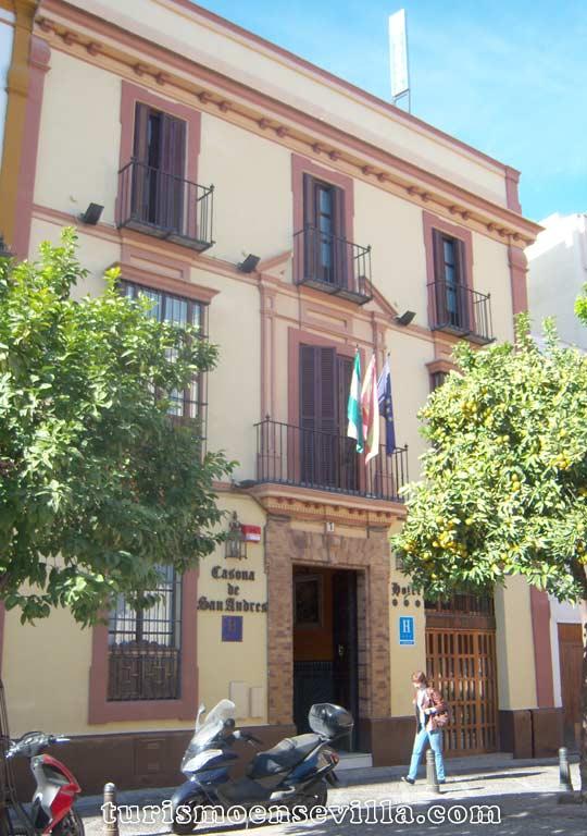 Hotel Casona de San Andrés en el centro de Sevilla