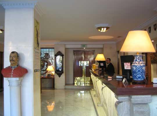 Interior del Hotel Inglaterra de cuatro estrellas, de Sevilla