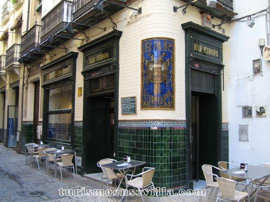 Bares de tapas en Sevilla